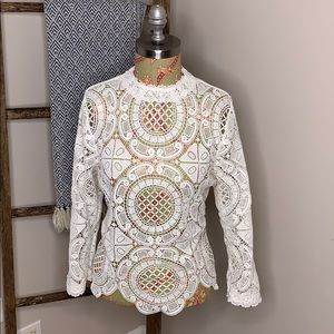 Gorgeous lace top from Anthropologie